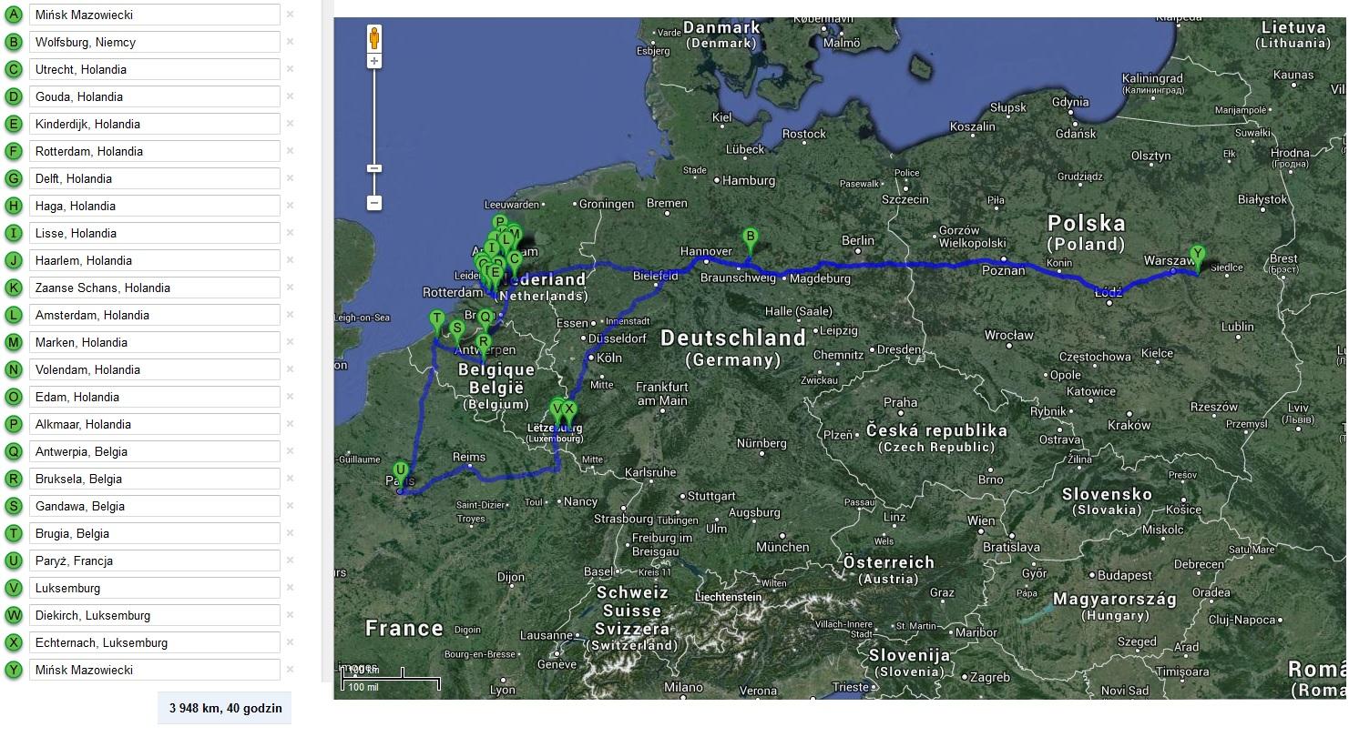 Trasa Holandia