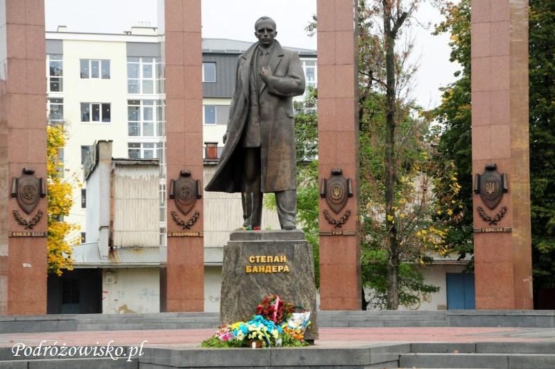 fot. Pomnik Bandery