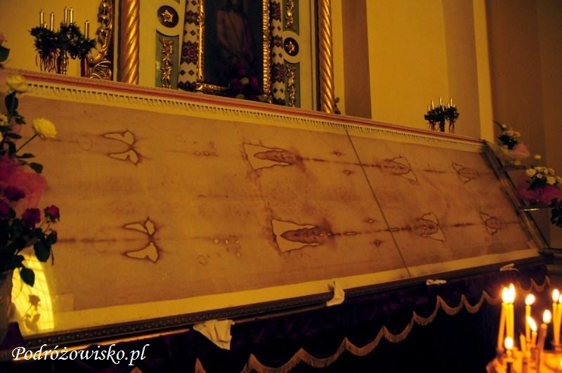 fot. Kopia Całunu Turyńskiego w Soborze św. Jura