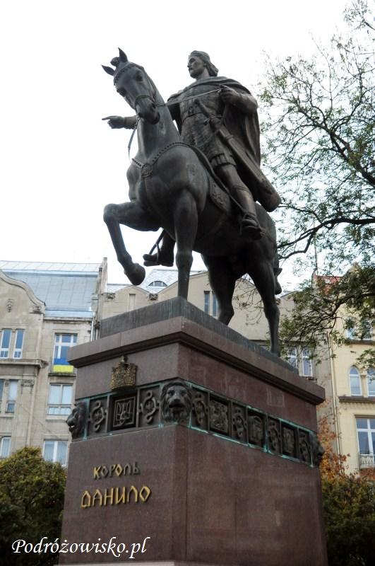 fot. Pomnik Daniela Halickiego