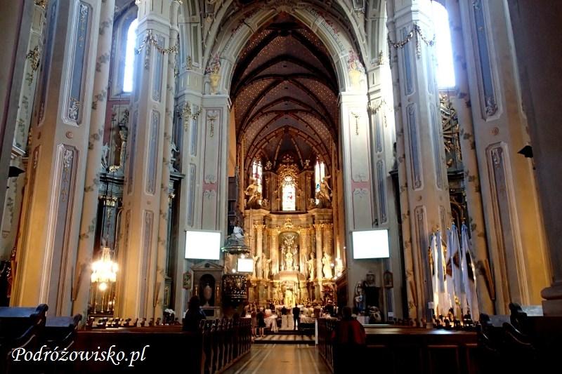 fot. Wnętrze Katedry Łacińskiej