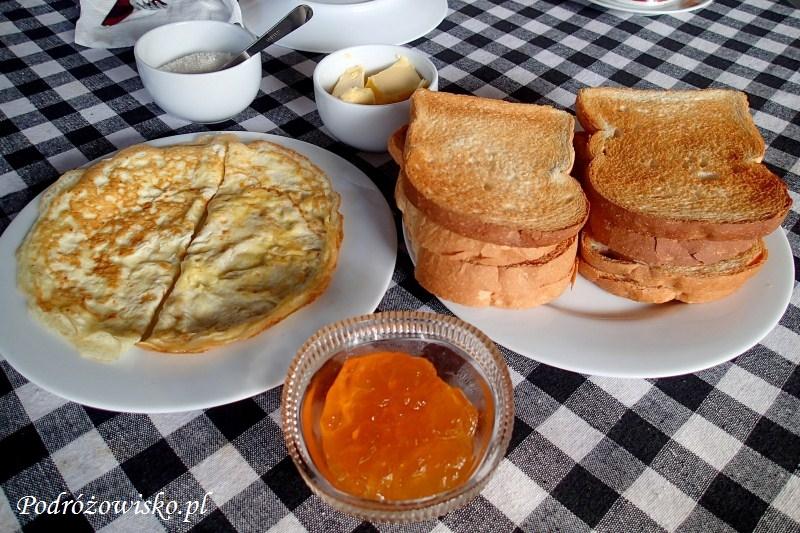 Tangalle śniadanie