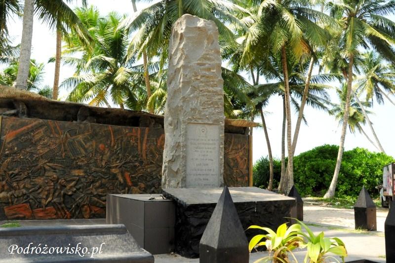 Pomnik ofiarom tsunami