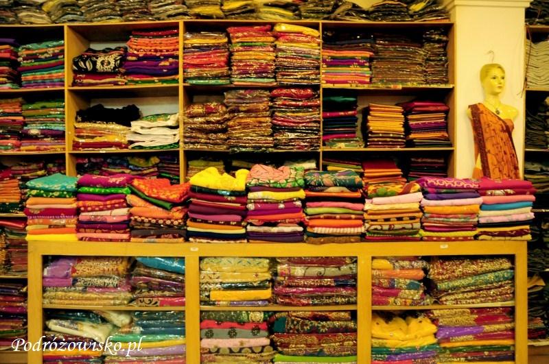Sari w Kandy