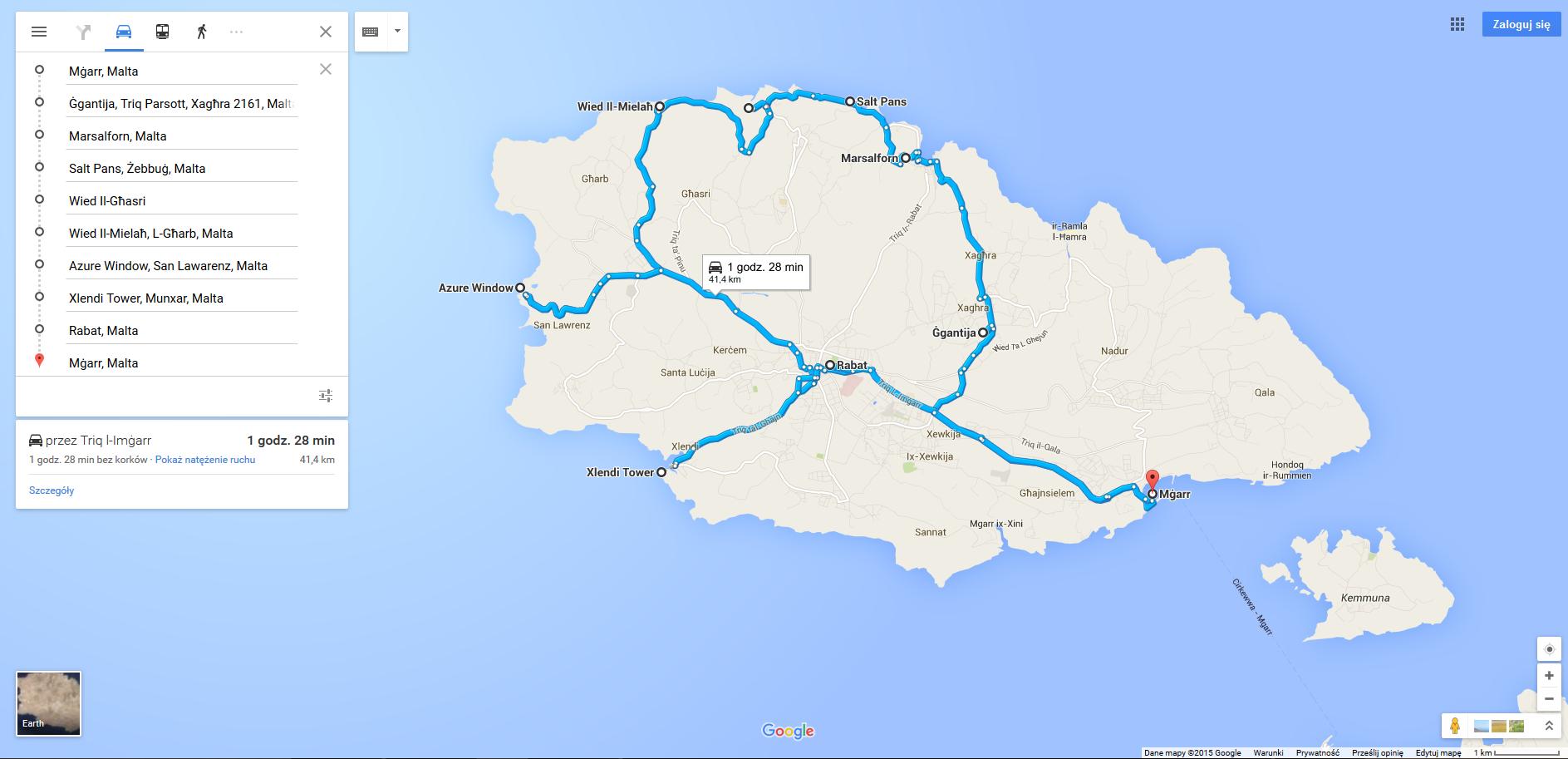 Gozo trasa 2