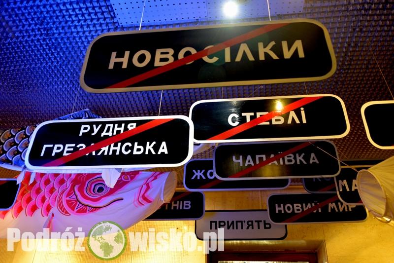 Fot. Nazwy miejscowości, które przestały istnieć po katastrofie w elektrowni