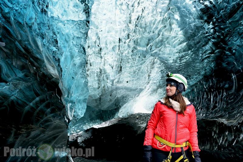 jaskinie lodowcowe na Islandii