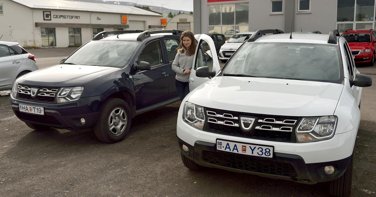 wypożyczenie samochodu na Islandii